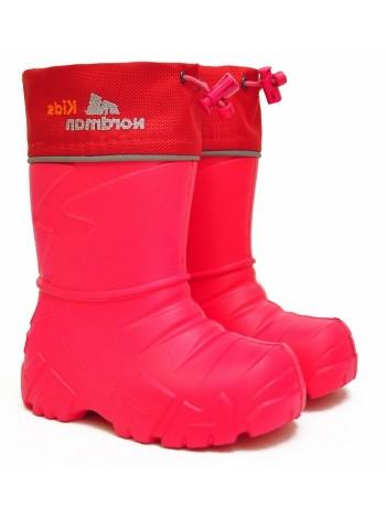 Сапоги резиновые Nordman 129110-02 красный (22-27)
