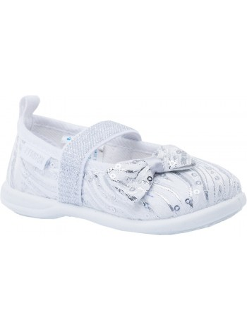 Текстильная обувь Котофей 131068-11 серебряный (20-26)
