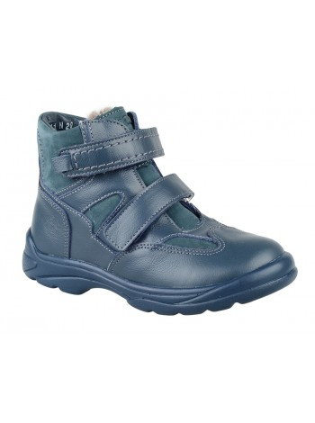 Ботинки зимние ТОТТА 211-МП синий (26-30)