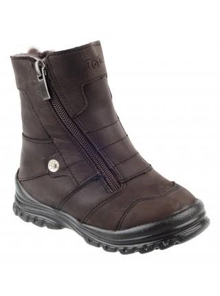 Ботинки зимние ТОТТА 243-МП коричневый (21-25)
